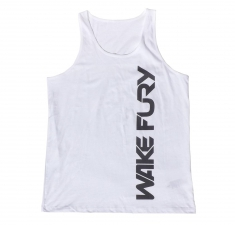 Men's white classic fit vest | Wakeboarders Clothing