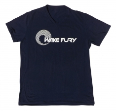 Men's navy soft style v neck t-shirt | Wakeboarders T Shirt