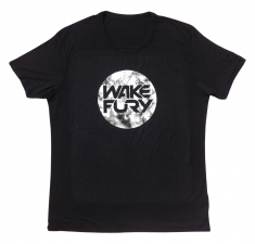 Men's black bamboo jersey t-shirt | Wakeboarders T Shirt