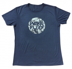 Men's denim blue bamboo jersey t-shirt | Wakeboarders T Shirt