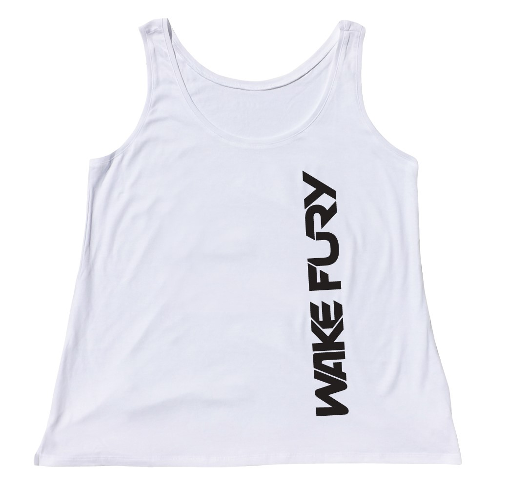 Women's white blend signature vest | Wakeboarders Clothing
