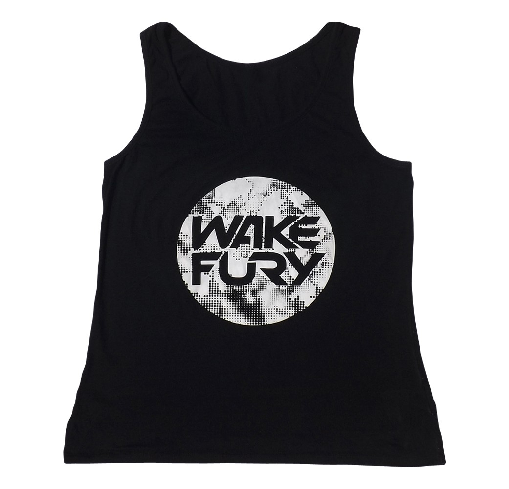 Women's black classic jersey vest | Wakeboarders Clothing